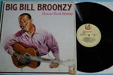 Big Bill Broonzy ‎- House Rent Stomp, Vinyl, LP, Italy'90, vg++