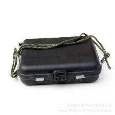 Fishing Lure Bait Tackle Waterproof Storage Box Case With  Compartments uf