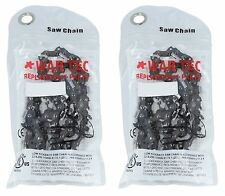 Pack Of 2 Chainsaw Chain 325 Pitch 058 or 1.5mm Gauge 66 Drive link DL GHS 4253