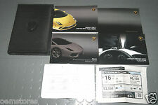 2013 Lamborghini Gallardo LP560-4 LP 560-4 Owners Manual - SET (USA & Canada)