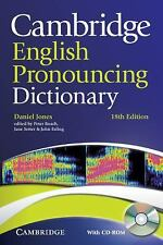 Cambridge English Pronouncing Dictionary with CD-ROM by Daniel Jones (2011,...