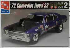 1972 PRO STOCK CHEVY 72 NOVA DRAG RACE  SS NOS SEALED AMT MODEL KIT