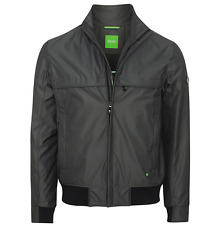 Genuine Mens Hugo Boss Green Sports Outdoor Jacket Black M RRP £280 (Jadon 17)