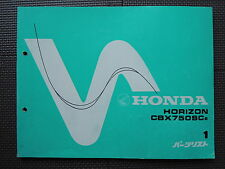 JDM HONDA CBX750SC E HORIZON RC18 Original Genuine Parts List Catalog CBX 750 SC