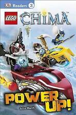 Lego Legends of Chima: Power Up! By March, Julia -Paperback