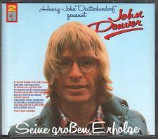 John Denver  2 CD's  SEINE GROßEN ERFOLGE (c) 1990