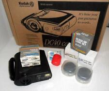 Vintage KODAK DC40 Digital Camera Working 3 Accessory Lens and Filters Orig. Box