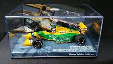 1:43 Minichamps Benetton B192 Ford Michael Schumacher 92 Belgian GP F1 447920019