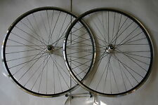 700C ROAD WHEEL SET WITH MICHE HUBS & STAINLESS SPOKES FOR SCREW ON FREEWHEEL
