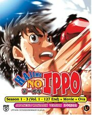 DVD Hajime No Ippo Season 1 - 3 + Movie +Ova (English Sub )+ Free1Bonus AnimeDVD