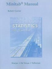 Minitab Manual for Business Statistics