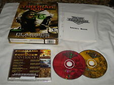 Command & Conquer Tiberian Sun (PC, 2001) Near Mint with box and instal guide