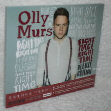 Olly Murs Right Place Right Time Deluxe Edition Taiwan Ltd 2-CD w/OBI (digipak)