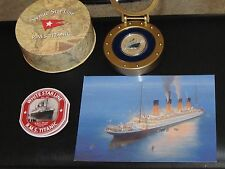 Titanic 1oz .999 silver proof commemorative set New Zealand mint  number 763