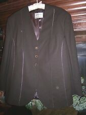 MARY KAY by BROOKHURST Brown Wool BLAZER Created Exclusively for MARY KAY~22P