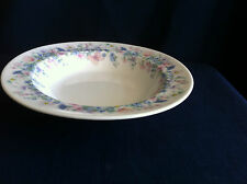 "Wedgwood Angela (smooth) 8"" flat rimmed soup  bowl"