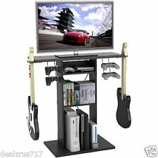 TV Stand Video Game Storage Media Center Furniture Organizer Table Games Console