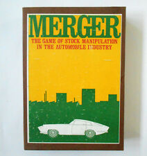 Vintage 1965 MERGER by Universal Bookshelf Board Game RARE