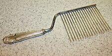 Vintage STERLING SILVER Cake Cutter / Breaker Comb