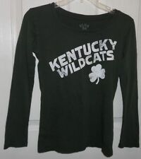 """Kiss Me I'ma Wildcat"" Kentucky Wildcats Long Sleeve NCAA T Shirt Sz. S NWT"