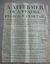 Mazoires Auvergne. Ardes. Maison de Maître et de Fermier à Vendre. 1820