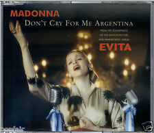 MADONNA - DON'T CRY FOR ME ARGENTINA / SANTA EVITA / LATIN CHANT 1996 CD1 EVITA