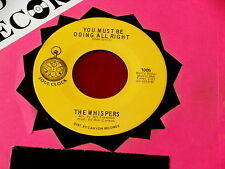 WHISPERS~ YOU MUST BE DOING ALL RIGHT~ MINT~ UNPLAYED STORE STOCK~ I'M ~ SOUL 45