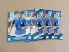 2014 Panini WORLD CUP SOCCER DANIELE DE ROSSI LOT OF 9 ITALY BASE #127