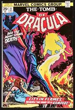 TOMB OF DRACULA #27 1974 NM MINUS CGC IT! CR TO OW PG BEST READ OF THE 1970'S!!!