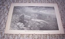 1889 MRS (ANDREW) JOHNSON'S JOURNEY THROUGH TENNESSEE by Train Railroad Print
