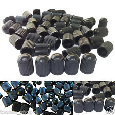 100PC HR168 Schwarz Kunststoff Reifen Ventil Dampf Kappen Schwarz Für Motorräder