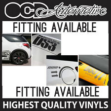CITROEN DS3 C3 SIDE BONNET DASH AND PETROL CAP GRAPHICS DECALS STICKER KIT