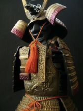 The Japanese Samurai All Metal Armor Figure Doll  -Takaoka Doki Products-