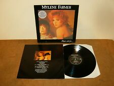MYLENE FARMER : AINSI SOIT JE - LP FRANCE 1988 with inner - POLYDOR 835 564 1