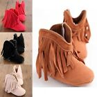 Baby Infant Toddler Unisex Shoes Tassel Boots&Moccasins 2Style For Newborn 0-18M