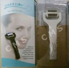 COOL-IT ROLLER Ice Cold Compression Face Massage Therapy Skin Soother White New