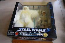 LUKE SKYWALKER HOTH vs WAMPA 12-inch Figure 1997 STAR WARS w/lightsaber MIB