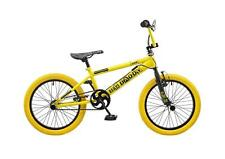 "2016 Rooster Big Daddy Kids 18"" Wheel Freestyle BMX Bike Bicycle Yellow RS118"