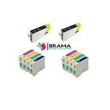 10 X CARTUCHOS COMPATIBLES NONOEM EPSON T1811 -T1814 XP-412 XP-415 XP 302