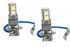 2 AMPOULE H3 LED A 27 LED SMD - 9 PASTILLE DE 3 LED SUR CHAQUE AMPOULE