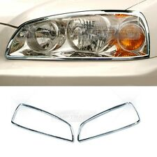 Chrome Head Light Lamp Molding Cover Garnish A781 For HYUNDAI 2004-06 Elantra XD