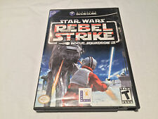 Star Wars Rebel Strike: Rogue Squadron III (Nintendo GameCube) Complete Exc!