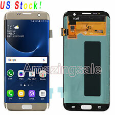 For Samsung Galaxy S7 Edge G935A G935T G935F LCD Screen Touch Digitizer Gold USA