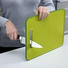 Cutting Board Integrated Knife Sharpener Large Non-Slip Joseph Joseph Chopping