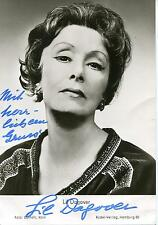 """LIL DAGOVER SILENT MOVIE """"I MARRY MY WIFE"""" ACTRESS SIGNED PHOTO AUTOGRAPH"""