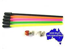 Coloured antenna tubes with mount for 2.4Ghz receivers may fit Tamiya Axial Colt