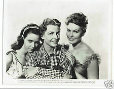 Susan Strasberg Betty Field Kim Novak A Family Affair Vintage photograph 10 x 8