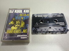 DJ KOOL KID feat. BRAVEHEARTS and NAS - Full Clip Part 3  (Tape)  PHATLINE TAPES