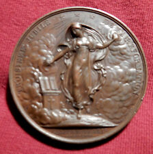 1817, Martin Luther,300 Anniv/ of Reformation,DePaulis, 40mm, bronze Whiting 567