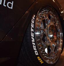 Buchstaben für Reifen, Tire Style V2, selbstklebend (inkl.Primer)